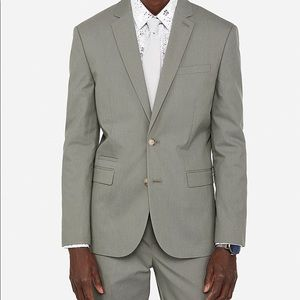 Men's Full Olive Suit from Express